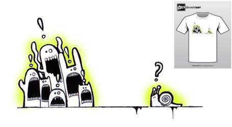 Semi-Finalist: 'the snail' by deviantWEAR