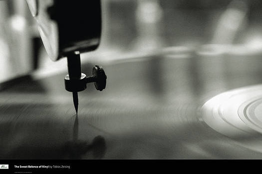 Sweet Balance of Vinyl Poster
