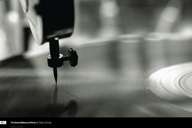 Sweet Balance of Vinyl Poster by deviantWEAR