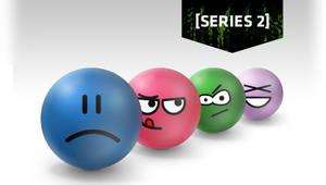Series2 Emoticon Stress Balls by deviantWEAR