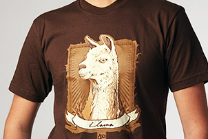 Llama Llama T-Shirt (Men's) by deviantWEAR