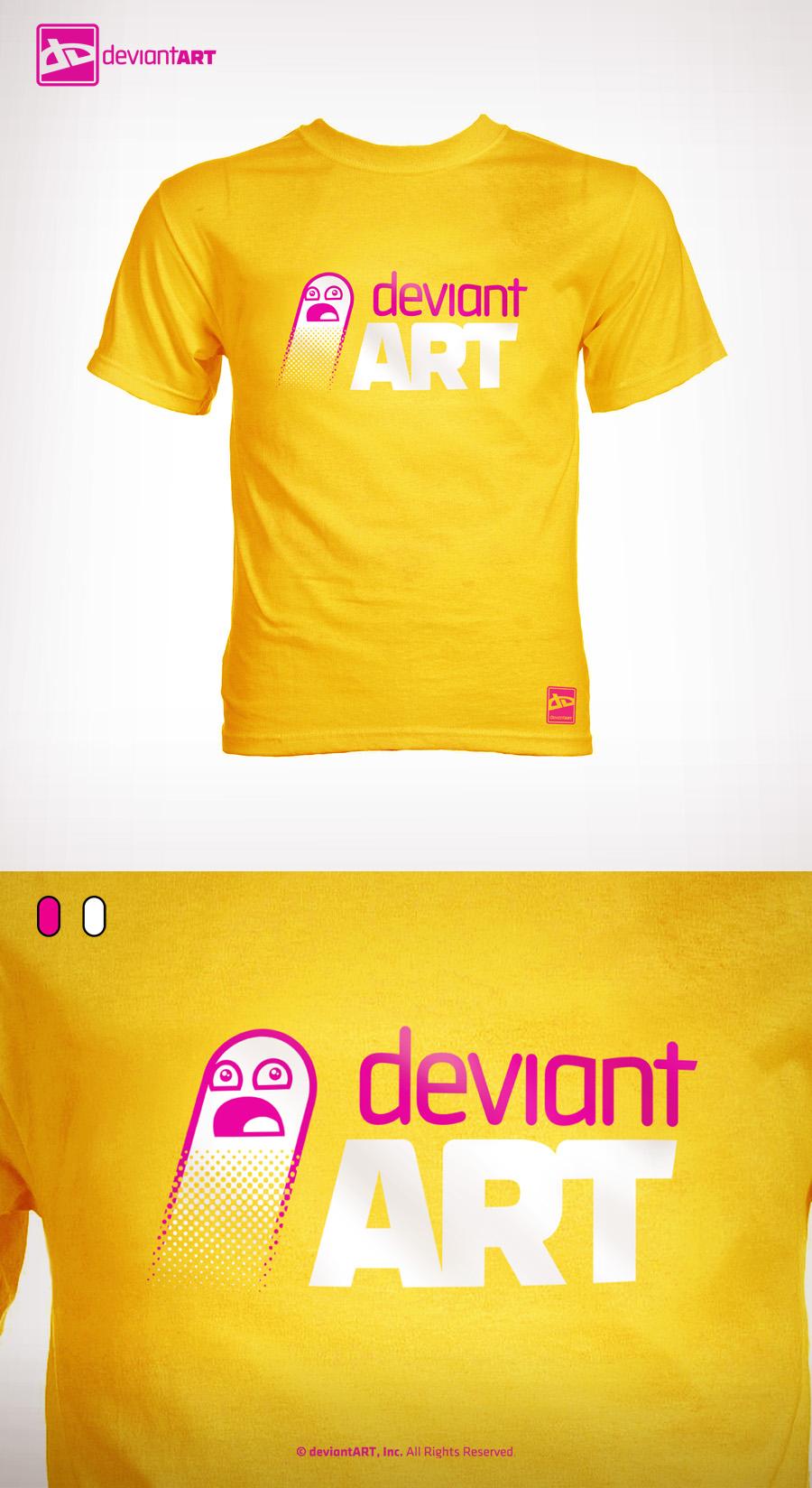 Semi-Finalist: 'T-Shirt DA_2' by deviantWEAR