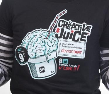 Creative Juice by deviantWEAR