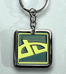 dA Icon Keychain