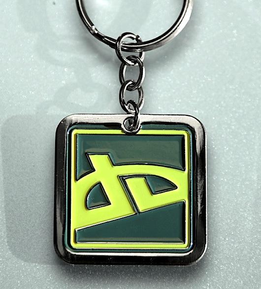 dA Icon Keychain by deviantARTGear
