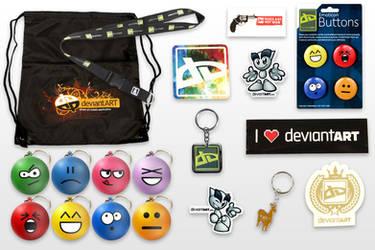 dA Addict Pack by deviantWEAR