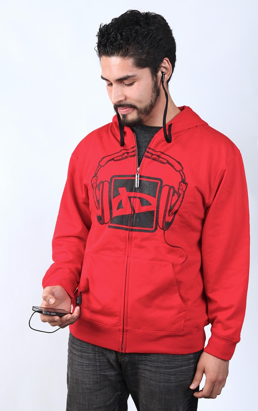 Decibel Headphone Hoodie by deviantARTGear