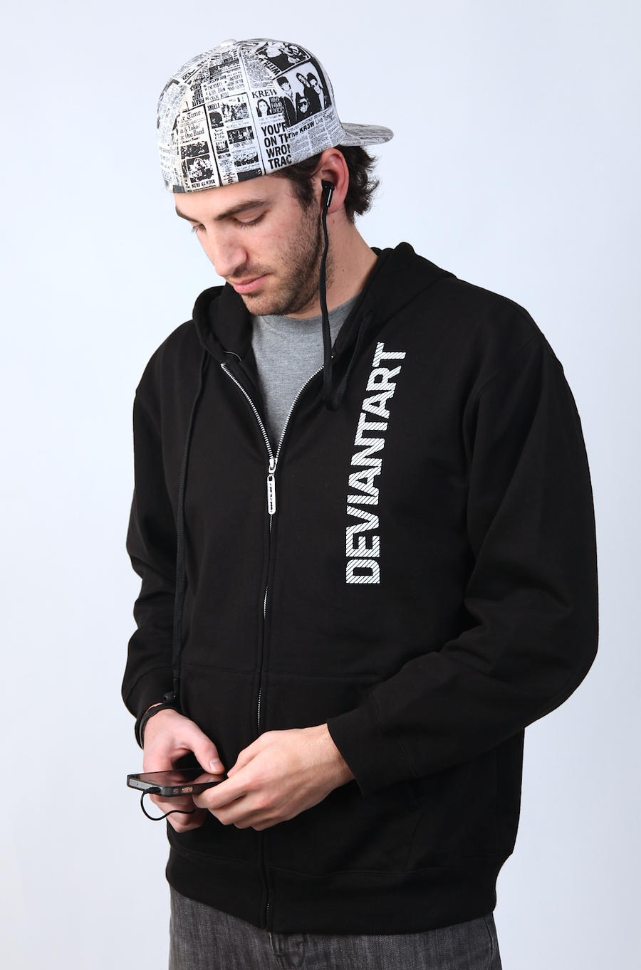 PressPlay Headphone Hoodie by deviantARTGear