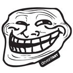 Trollface Sticker