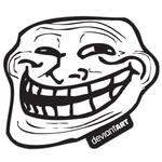 Trollface Sticker