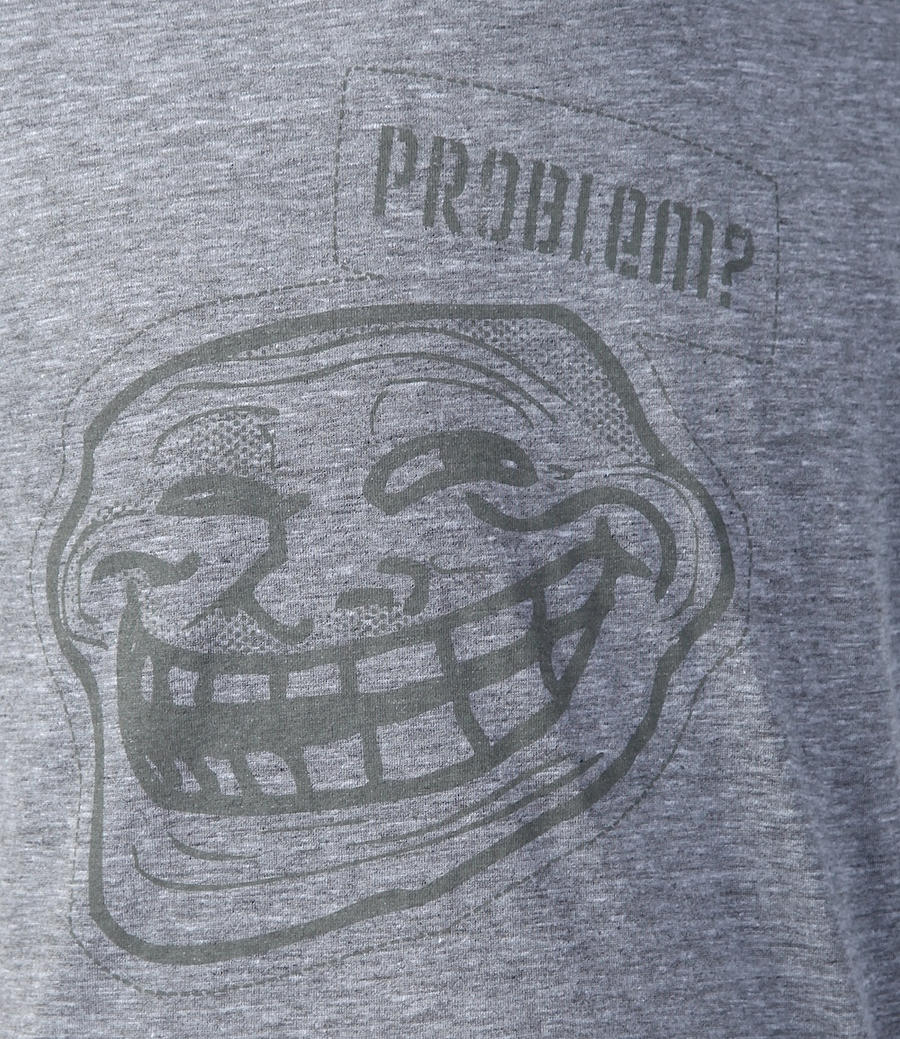 Trollface Problem? T-Shirt by deviantARTGear
