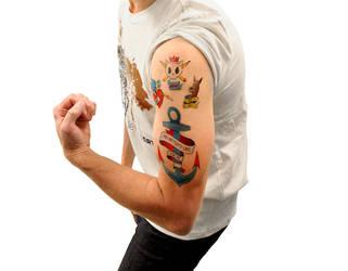 dA Tattoo Pack by deviantWEAR