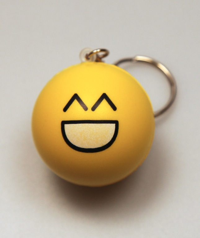 :D Stress Ball Keychain by deviantARTGear