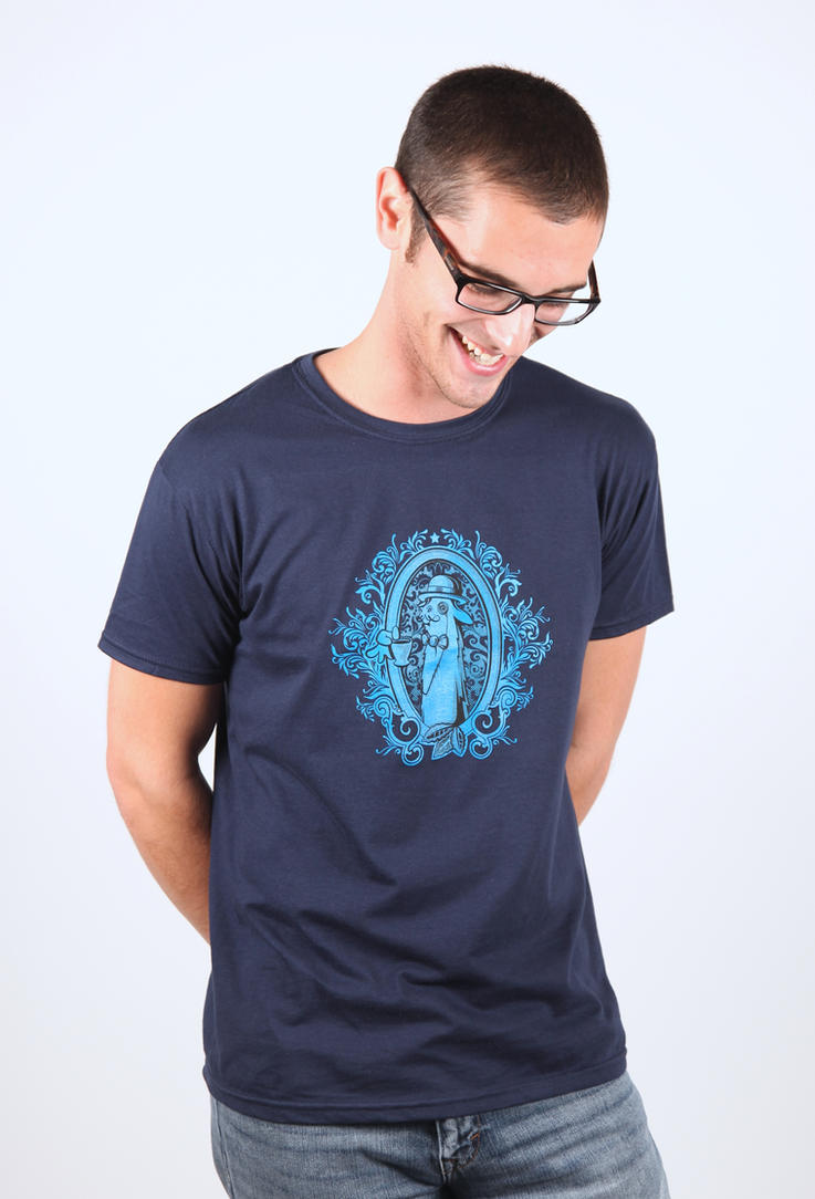 Fancy Llama T-Shirt by deviantARTGear