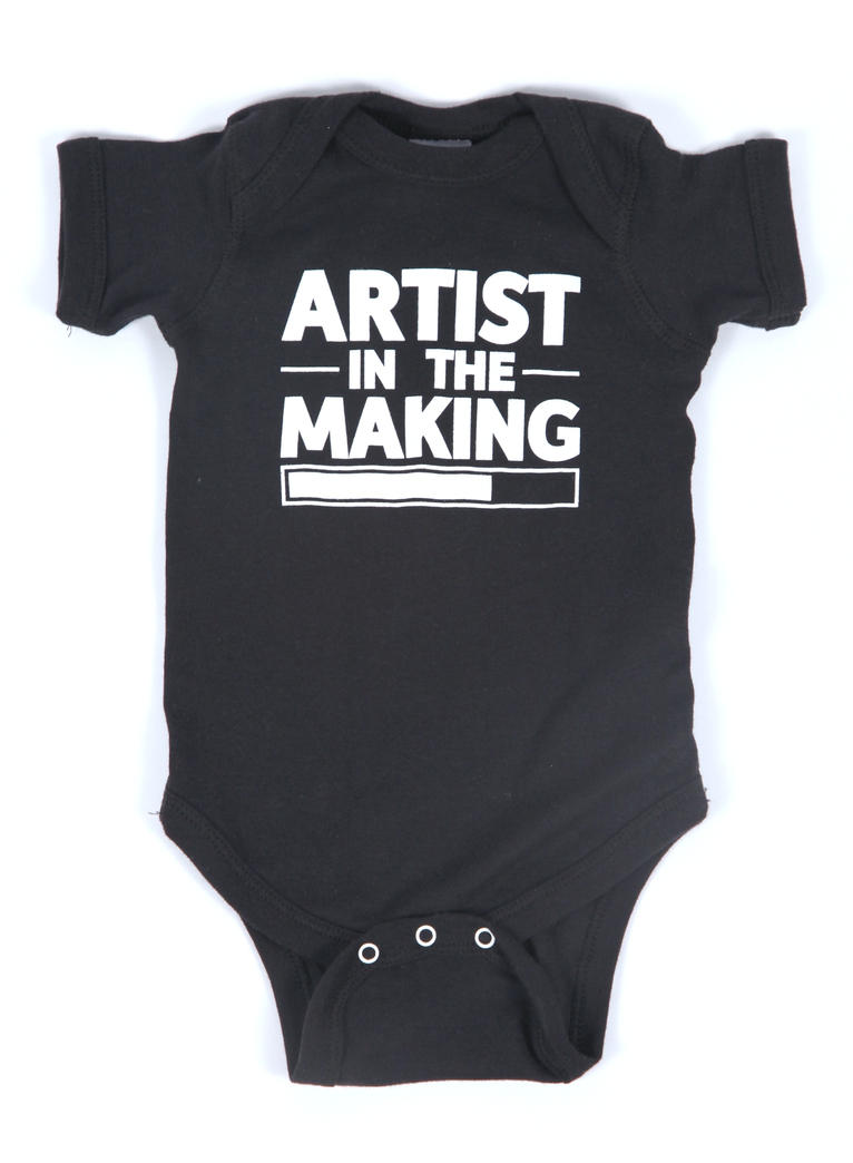 Artist In The Making - Baby by deviantARTGear