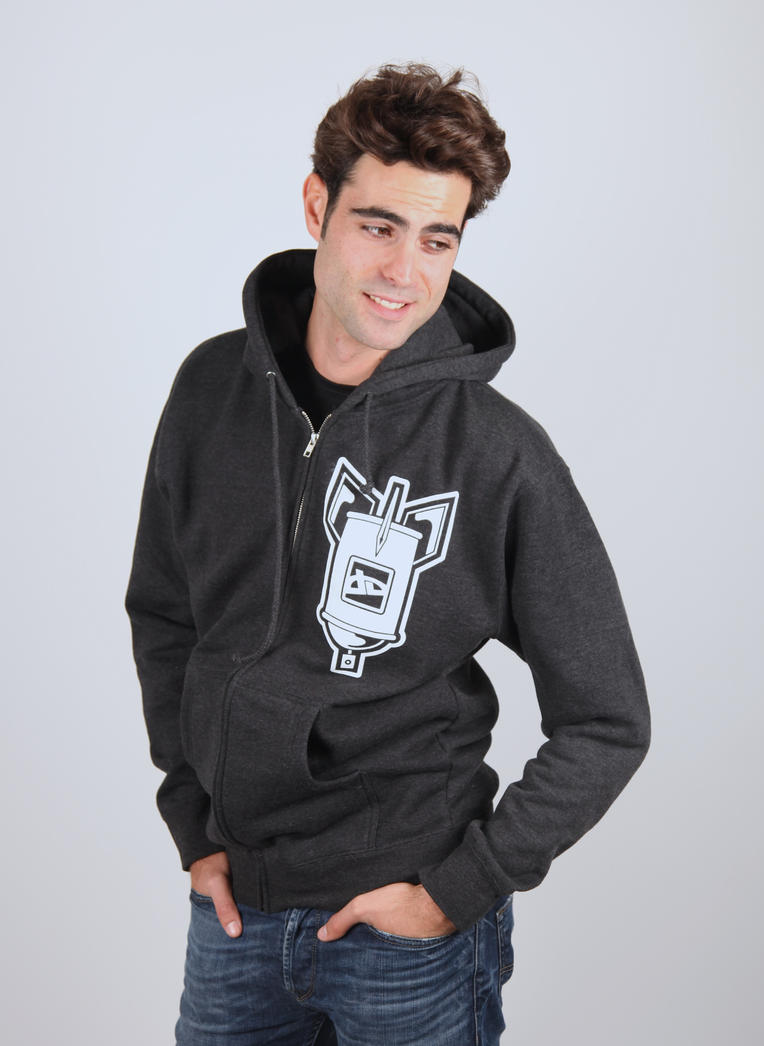 Spray Can Bomb Hoodie (Unisex) by deviantWEAR