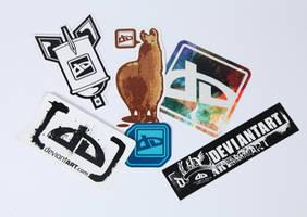 Sticker Pack I by deviantWEAR