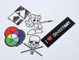 Sticker Pack II by deviantWEAR