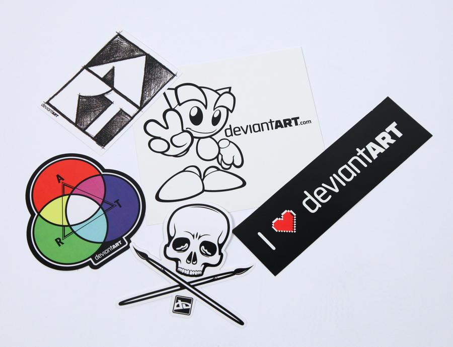 Sticker Pack II by deviantARTGear