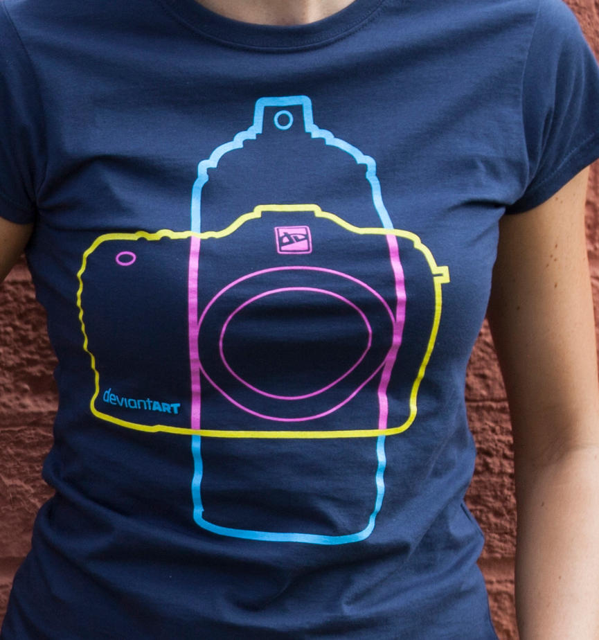 SprayCam T-Shirt by deviantARTGear
