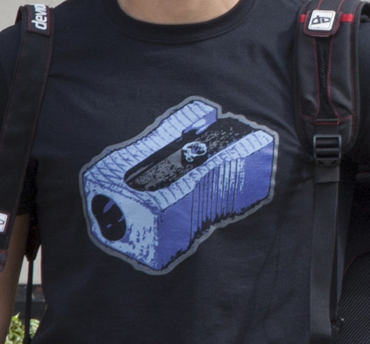 Pencil Sharpener T-Shirt by deviantARTGear