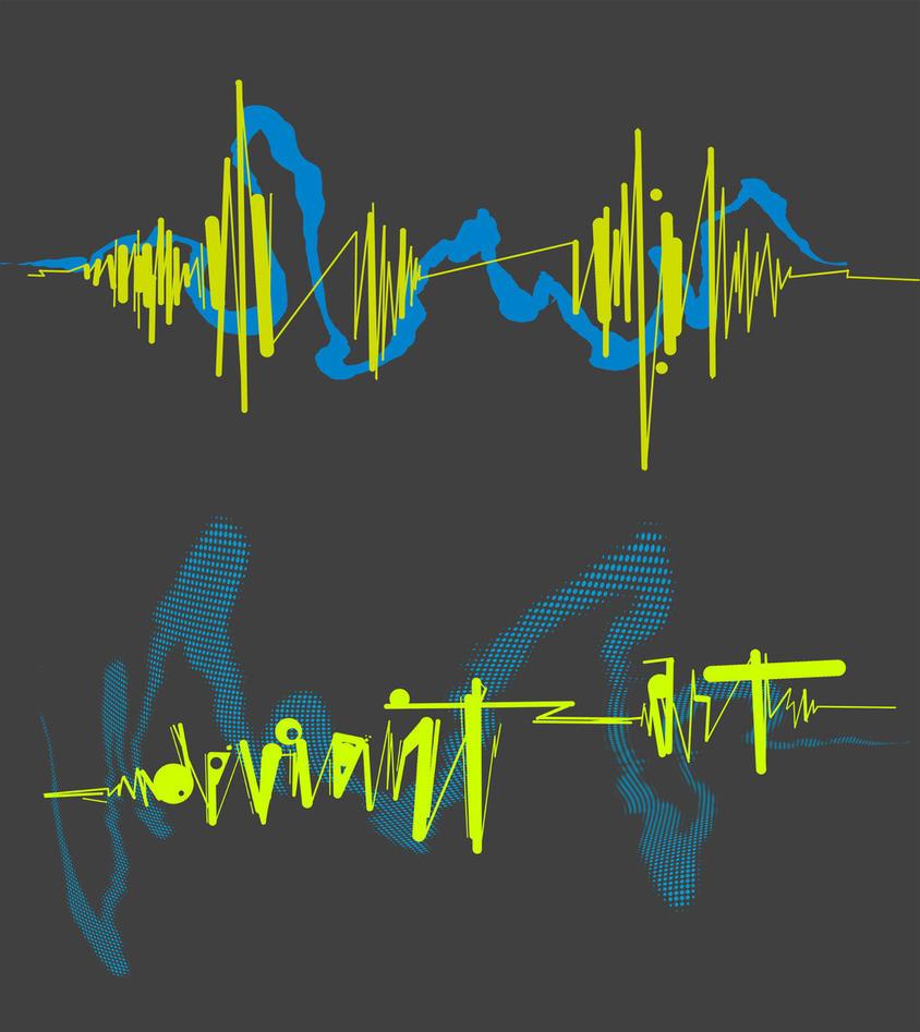 Soundwaves Headphone Hoodie by deviantARTGear