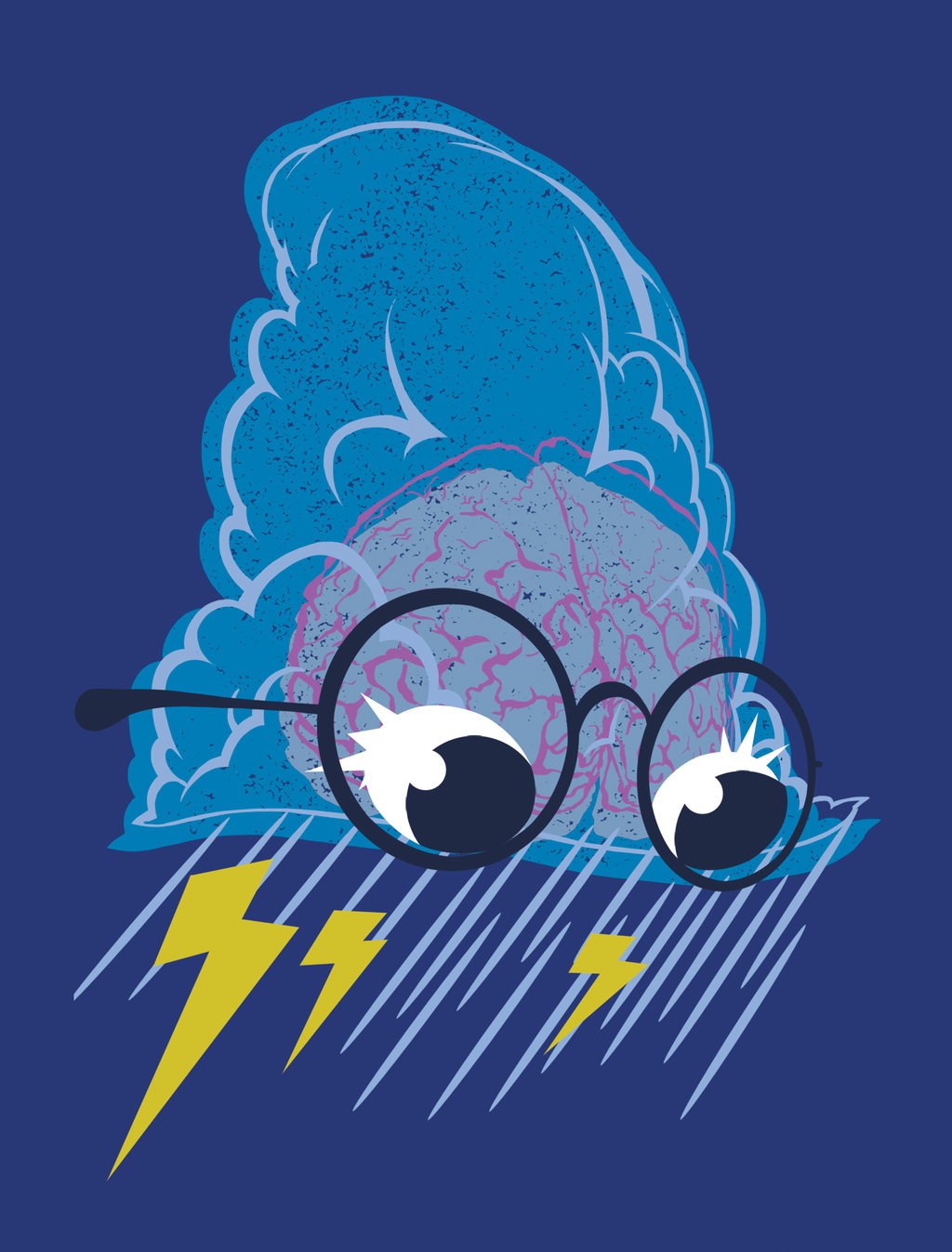 Raining Ideas T-Shirt by deviantWEAR