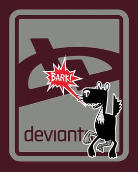 deviant BARK T-Shirt - Brick