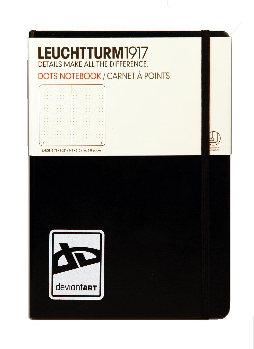 dA Large Notebook by Leuchtturm by deviantARTGear