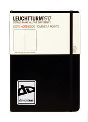 dA Large Notebook by Leuchtturm by deviantWEAR