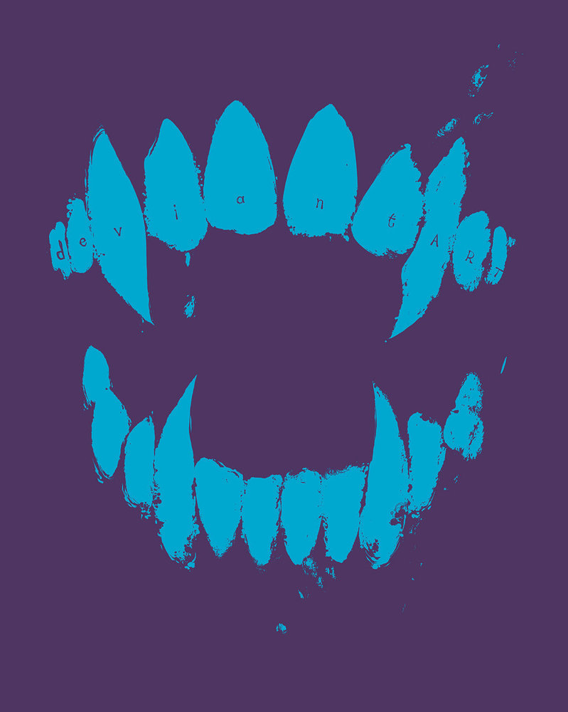 Fangs Pullover Hoodie - Icy Grape by deviantARTGear