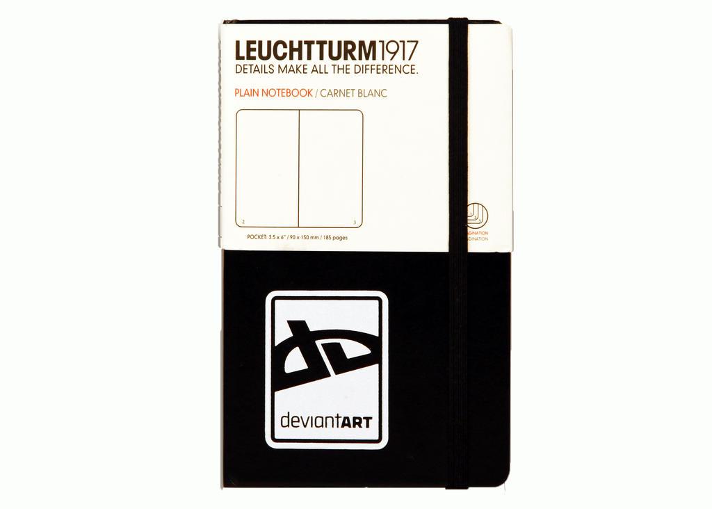 dA Small Notebook by Leuchtturm by deviantARTGear