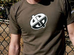 Army Green Double Logo Shirt