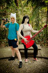 Adventure Time with Finn and Marcy
