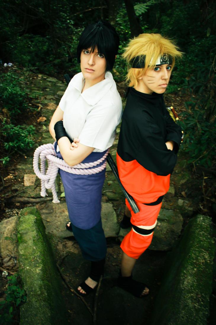 Sasuke and Naruto by OsirisMaru