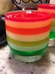 Rainbow Jello Goodness
