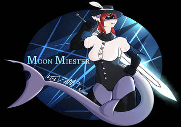 Moon Miester 8/16/17 by TreVhART