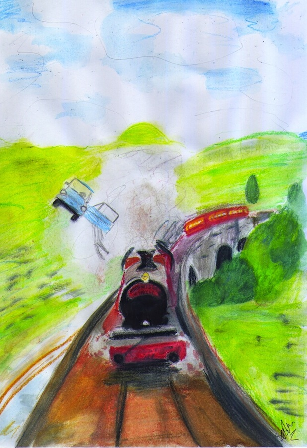 Hogwarts Express by SophieAnna97