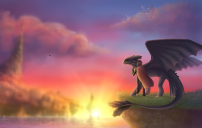 Remembrance [HTTYD discoveryourduo]