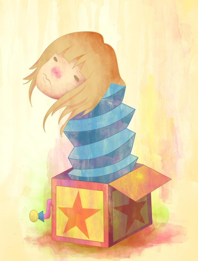 Clown Box by dirteaicecream