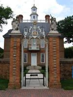 Mansion gate by Castlemoor-stock