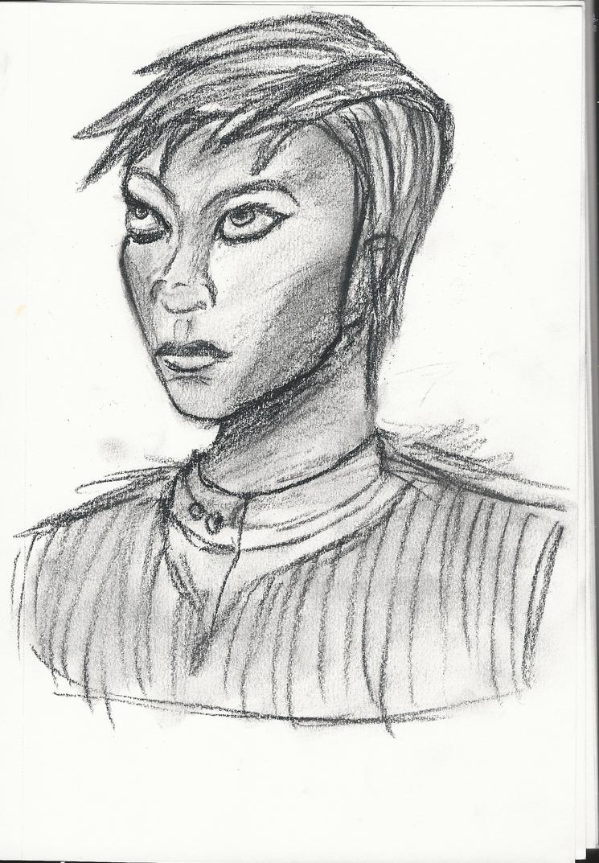 Lieutenant Usha Rivera by Datas-Girl
