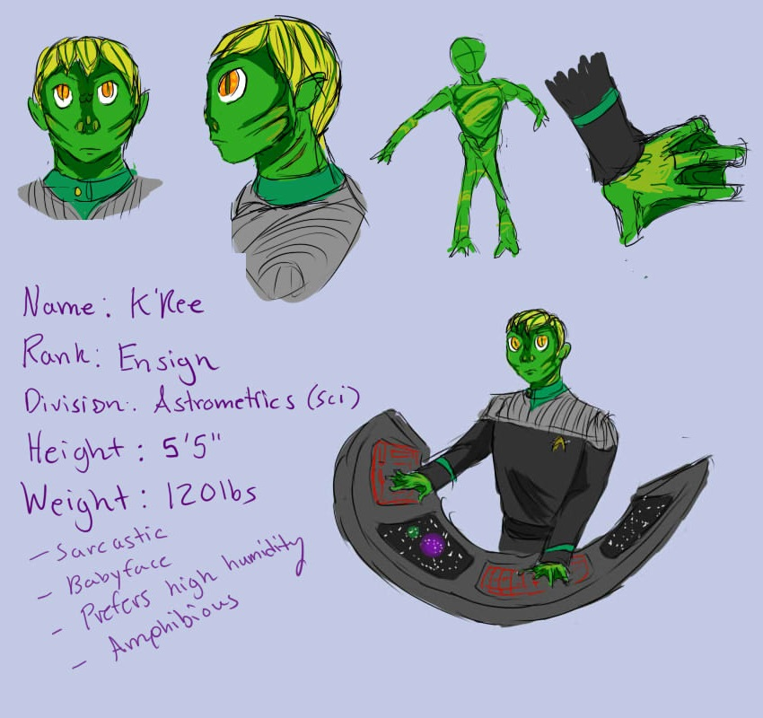 K'ree Reference Page by Datas-Girl