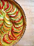 Vegetable Quiche - II