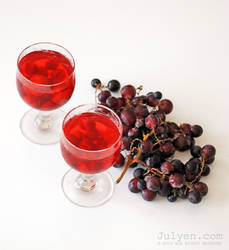 Grape compote - I