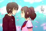 Just one kiss Senpai-kun