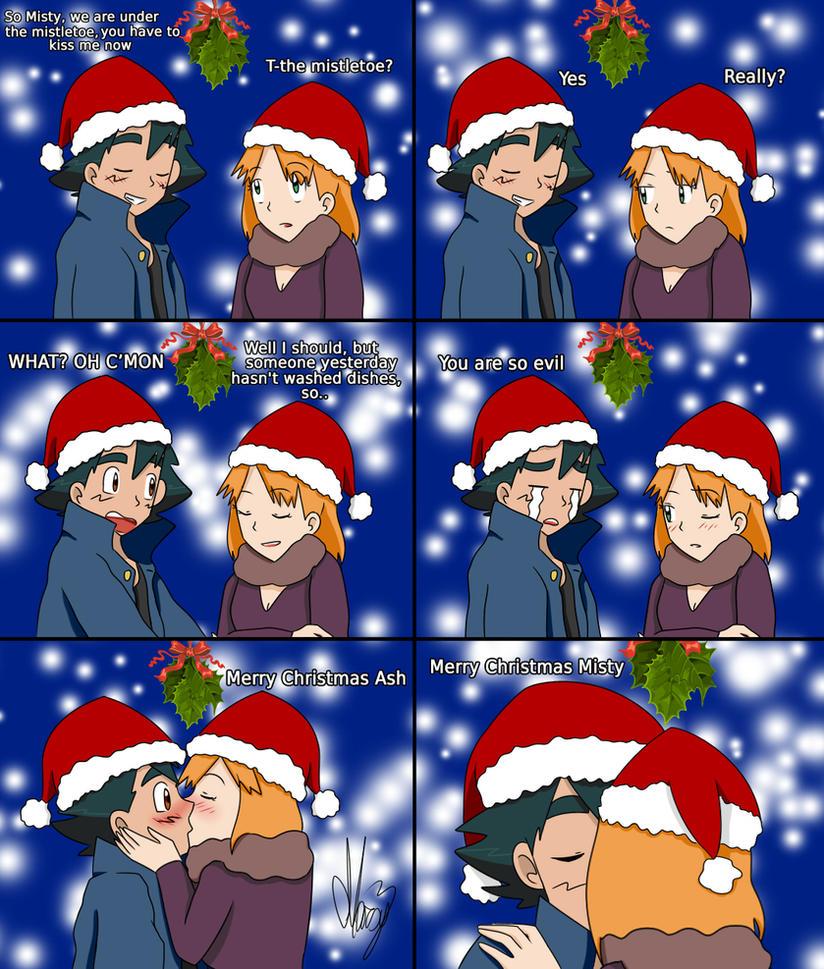 Christmas Kiss by Marsy3