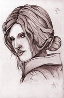 triss merigold portrait by ArthusokD