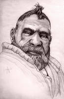zoltan a dwarf portrait by ArthusokD