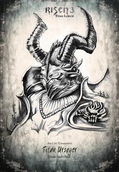 Risen3 Art Ursegor Black Pencil